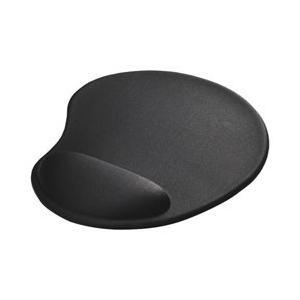 BUFFALO リストレスト一体型マウスパッド ブラック BSPD15BK BSPD15BK