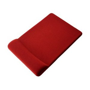 クッション性に優れた素材を採用したマウスパッド