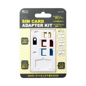 〔SIM変換アダプタ:nanoSIM→microSIM / nanoSIM→標準SIM / micr...
