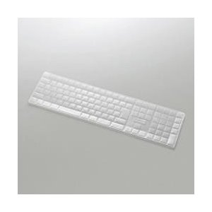 エレコム Apple Magic Keyboard (テンキー付き) (JIS)対応 キーボード防塵...