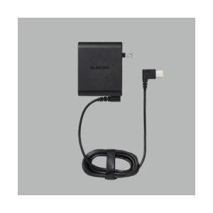 エレコム(ELECOM) 回転スイングプラグを採用したノートパソコン用ACアダプタ。 ACDC-2065NEBK|y-sofmap