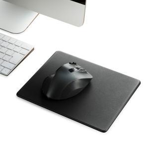 エレコム(ELECOM) マウスパッド/ソフトレザー/XLサイズ/ブラック MP-SL02BK