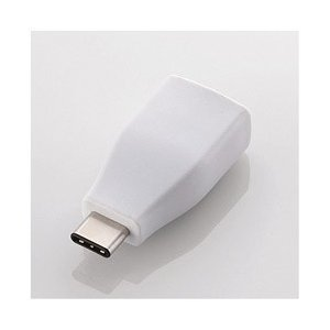 ELECOM(エレコム) [USB-C → USB-A]3.1変換アダプタ 転送 ホワイト USB3...