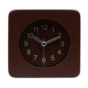 不二貿易 Fuji Boeki 置時計 ウッド スクエア BR 36695|y-sofmap