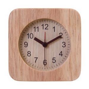 不二貿易 Fuji Boeki 置時計 ウッド スクエア NA 36696|y-sofmap