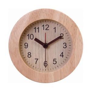 不二貿易 Fuji Boeki 置時計 ウッド ラウンド NA 36699|y-sofmap