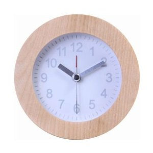 不二貿易 Fuji Boeki 置時計 ウッド ラウンド WH 36700|y-sofmap