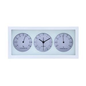 不二貿易 Fuji Boeki 置時計温湿度計付き ダンデ 横型 WH 99062|y-sofmap