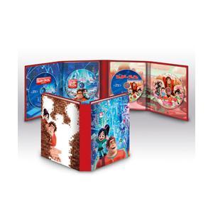 ウォルト・ディズニー・ジャパン シュガー・ラッシュ:2ムービー・コレクション <ブルーレイ+DVDセット> BD