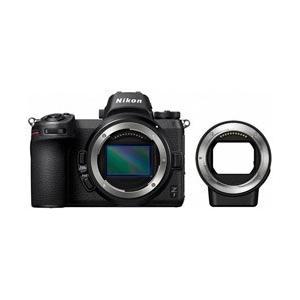 ミラーレスカメラ「Nikon Z7 ボディ」とマウントアダプター「FTZ」のセット商品。