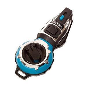 シンワ測定 シンワ ハンディ墨つぼJr.Plus手巻ターコイズブルー 73285