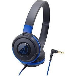 audio-technica(オーディオテクニカ) ATH-S100 BBL(ブラックブルー)【本体...