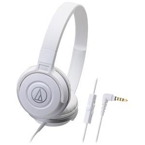 audio-technica(オーディオテクニカ) ATH-S100iS WH(ホワイト)【リモコン...