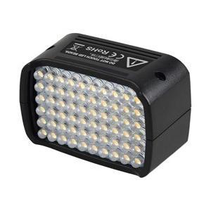 AD200のヘッドを交換するだけで簡単にLEDに。60個のLEDで自然光に近いライティングで動画撮影...