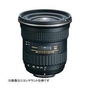 トキナー カメラレンズ AT-X 17-35 F4 PRO FX【キヤノンEFマウント】