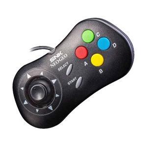 「NEOGEO CD」のコントローラーデザインを再現したNEOGEO mini用コントローラーです。