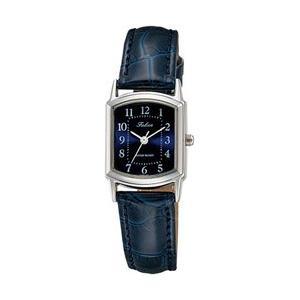 シチズン ファルコン 腕時計 日本製ムーブメント 革ベルト ネイビー/紺 QA69-305 レディース 婦人