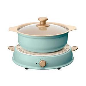 アイリスオーヤマ 卓上型IH調理器鍋セット 「ricopa」(1口) IHLPR14-AA
