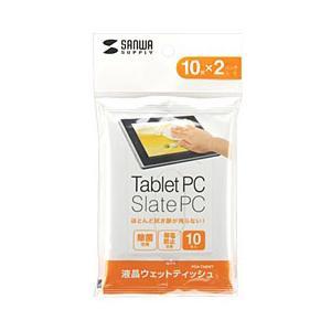 サンワサプライ タブレット用 ウェットティッシュ PDA-TABWT (PDATABWT)|y-sofmap
