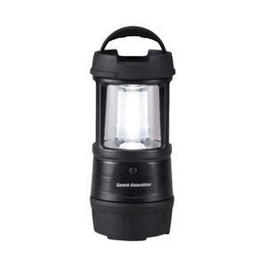 オーム電機 LN-CY2WSH-K ランタン LED耐衝撃 [LED /単1乾電池×3 /防水]