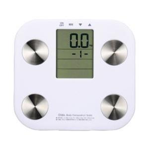 体重・体脂肪・BMI指数・期初代謝が計れる、コンパクトな体重体組成計です。