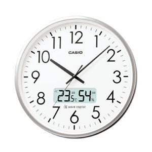 カシオ IC-2000J-8JF (シルバー) 壁掛け時計|y-sofmap