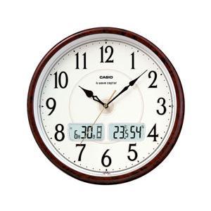 カシオ ITM-200J-5BJF 温度・湿度計付き 電波時計|y-sofmap