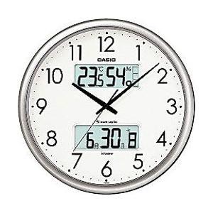 カシオ ITM-650J-8JF シルバー 電波掛時計 生活環境お知らせクロック|y-sofmap