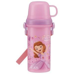 コップでも飲めて、直飲みも出来るプラスチック水筒です。食洗機、乾燥機OK!肩に掛けて持ち運べるショル...