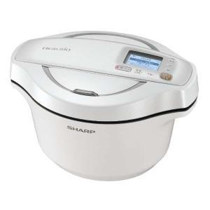 シャープ(SHARP) 水なし自動調理鍋 「ヘルシオ ホットクック」(2.4L) KN-HW24E-W ホワイト系 KN-HW24E-W ホワイト系 y-sofmap 03