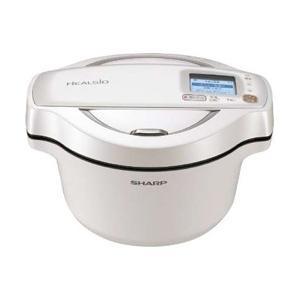 シャープ(SHARP) 水なし自動調理鍋 「ヘルシオ ホットクック」(1.6L) KN-HW16E-...