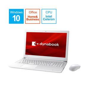 ダイナブック dynabook T4 15.6型ノートパソコン Celeron メモリ4GB HDD1TB Office付き Windows10 リュクスホワイト P1T4KPBW|y-sofmap
