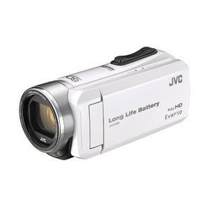 JVCケンウッド SD対応 32GBメモリー内蔵フルハイビジョンビデオカメラ(ホワイト) GZ-F117-W