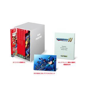 ロックマンシリーズタイトル5本とアイテム2点を専用BOXに収納した、『ロックマン&ロックマン...