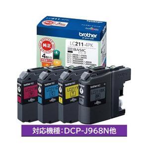 ブラザー 純正インク LC211-4PK インクカートリッジ(4色セット) (LC2114PK)|y-sofmap