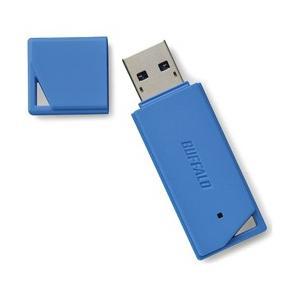 バッファロー(BUFFALO) RUF3-K64GB-BL USB3.1メモリ[Mac/Win]RUF3-KBシリーズ(64GB・ブルー)|y-sofmap