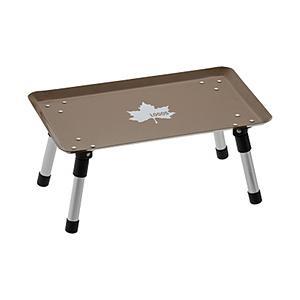 ロゴス スタックカラータフテーブル(Vキャラメル)
