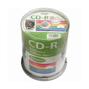 CD-R 700MB 100枚スピンドル 52倍速 ワイドプリンタブル