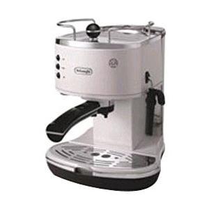 デロンギ ECO310W ホワイト ≪エスプレッソマシン兼用≫コーヒーメーカー(1.4L)