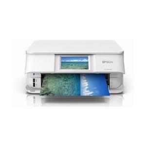 エプソン(EPSON) Colorio(カラリオ) EP-881AW A4カラーインクジェットプリンター複合機 [USB2.0・無線・有線LAN/自動両面印刷/ホワイト]|y-sofmap