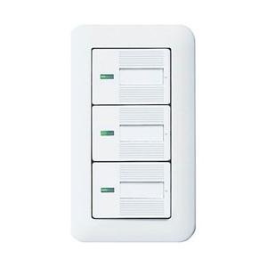 パナソニック(Panasonic) コスモワイド21埋込ほたるトリプルスイッチB(ホワイト) WTP50513WP