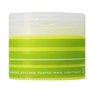 中野製薬 ナカノ スタイリング タントN ワックス3 ライトハード 90g