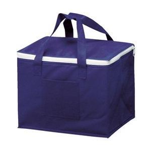 丈夫な不織布タイプの保冷バッグです。