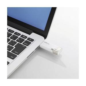 エレコム Lightning − USB-A 2.0メモリ [iOS/Mac/Win] LMF-LG...