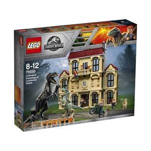 レゴジャパン LEGO(レゴ) 75930 ジュラシック・ワールド インドラプトル、ロックウッド邸で大暴れ