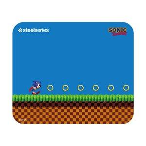 SteelSeries ゲーミングマウスパッド QcK-Mini-Sonic-the-Hedgehog-Edition [ソニック・ザ・ヘッジホッグ]|y-sofmap