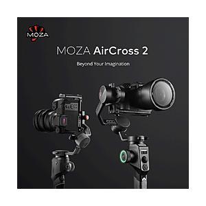 GUDSEN MOZA AirCross2 ハンドヘルドジンバル3軸スタビライザー フルサイズ一眼レ...