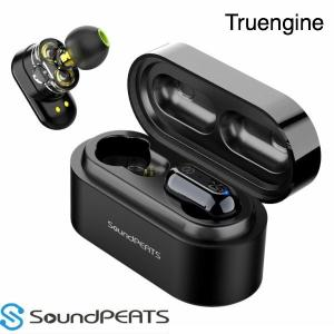 SOUNDPEATS フルワイヤレスイヤホン SoundPEATS Truengine [ワイヤレス...