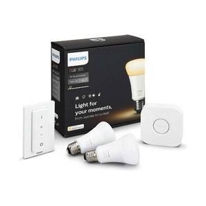 照明操作や設定を自由にできるブリッジと照明のオンオフや調光調色の操作ができるDimmerスイッチが付...
