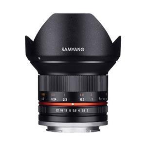 SAMYANG カメラレンズ 12mm F2.0 NCS CS APS-C用【FUJIFILM Xマウント】(ブラック)|y-sofmap